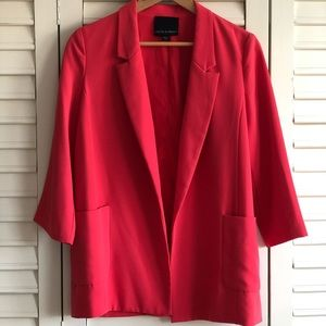Nordstrom Blazer with Oversized Front Pockets